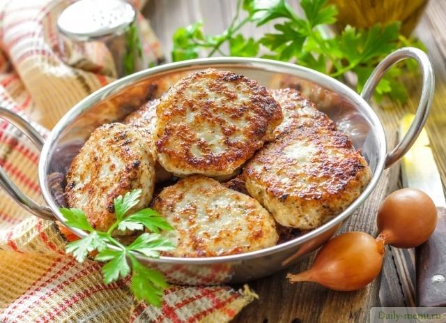 котлеты мясные с капустой рецепт с фото