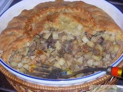 Балеш татарский пирог рецепт