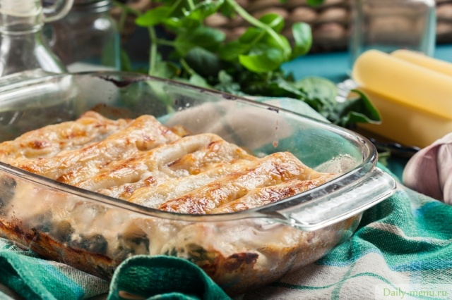 "Фото: <a href=""https://ru.depositphotos.com/195392918/stock-photo-cannelloni-pasta-stuffed-with-spinach.html"">Depositphotos.com</a>"