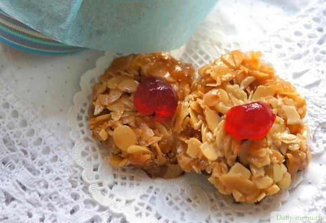 флорентины печенье рецепт