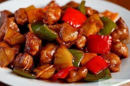 рецепт мясо в кисло сладком соусе рецепт с фото
