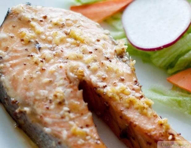 Рецепт маринада для стейка из рыбы