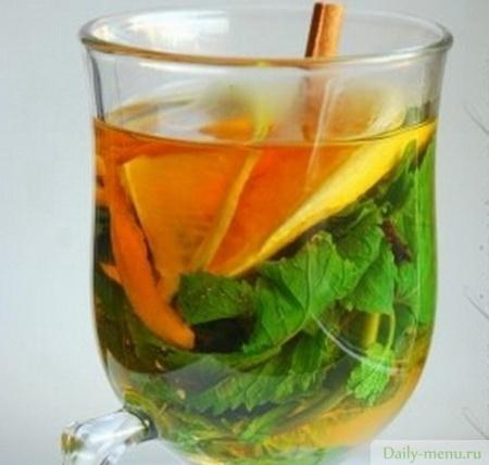 Марокканский чай с мятой и корицей рецепт с фото, как