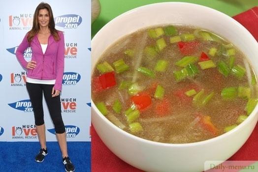 Суповые диеты синди кроуфорд