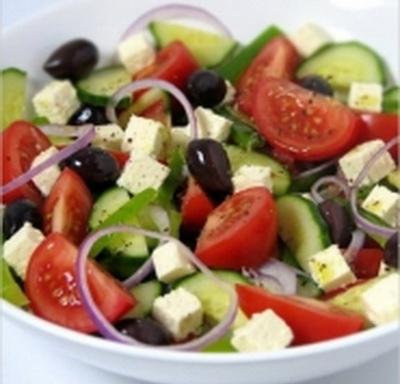 Греческий салат килокалории