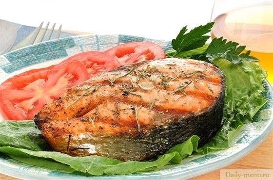 рыба красная запеченная в фольге в духовке