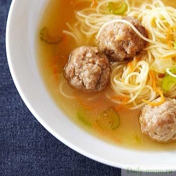 рецепт тефтелей для супа с вермишелью