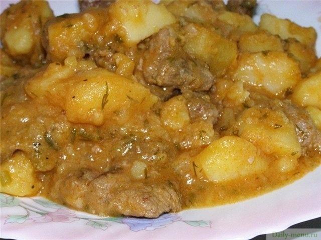 Блюдо с мясом и грибами в духовке рецепт с пошагово